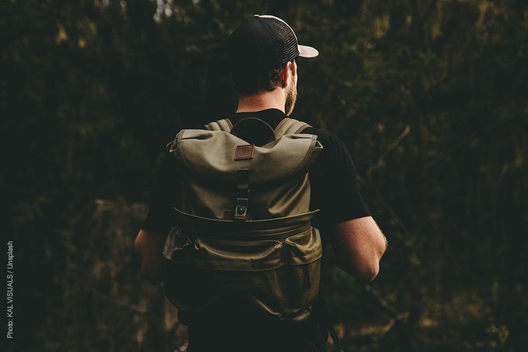 Jagdrucksack für Wildnistrekking